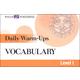 Daily Warm-Ups: Vocabulary (Level 1)