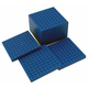 Interlocking Base Ten Blocks - Blue 10 Flats