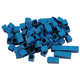Interlocking Base Ten Blocks-Blue 100 Unit Cube