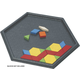 Pattern Block Tray - Hexagonal