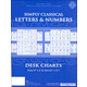 Simply Classical Letters and Numbers Desk Charts
