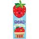 Strawberry Scented Bookmark