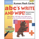ABCs Lowercase Write & Wipe Flashcards