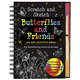 Butterflies and Friends Scratch and Sketch Activity Book