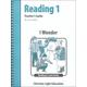 I Wonder Teacher's Guidebook