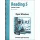Open Windows Teacher's Guide (2nd Edition)