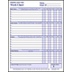 Create-Your-Own Work Chart Boy - Laminated