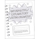 Informative/Explanatory Writing Organizer Grades 4-5