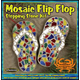 Mosaic Flip Flop Stepping Stone Kit