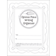 Opinion Piece Writing Organizer Grades 2-3