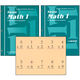 Saxon Math 1 Student Workbooks / Fact Cards
