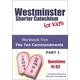 Westminster Shorter Catechism for Kids Workbook #5 The Ten Commandments Part 1
