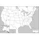 USA/World Double-Sided Laminated Map