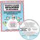 Teach & Learn Spanish in December (Book & CD)