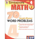 Singapore Math: 70 Must-Know Word Problems, Level 4