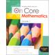 On Core Mathematics Student Edition Worktext Grade 1