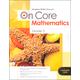 On Core Mathematics Student Edition Worktext Grade 5