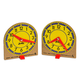 Mini Judy Clocks - set of 2
