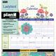 Florals Plan-It Calendar (August 2018 -  December 2019)