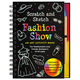 Fashion Show Scratch and Sketch Activity Book