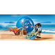 Pirate on Treasure Hunt (Blue Playmobil Egg)