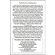 Declaration of Independence, Preamble - 6 x 9 Chart