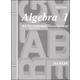 Saxon Algebra 1 Consumable Test 3ED