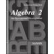 Saxon Algebra 2 Consumable Test 3ED