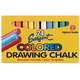Drawing Chalk, 24 assorted colors