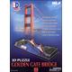 Golden Gate Bridge 3-D Puzzle
