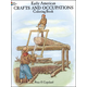 Early American Crafts Coloring Book