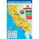 California State Map Chart (11