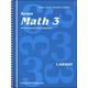 Saxon Math 3 Teacher's Edition