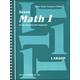 Saxon Math 1 Teacher Edition