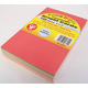 Bright Cards - 100 Blank Cards in 13 Assorted Colors (4