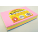 Bright Cards - 100 Blank Cards in 5 Assorted Colors (4