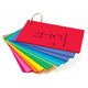 Study Buddies - 100 Cards with Corner Drill in Assorted Primary Colors (3