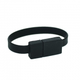 USB Flash Drive Wristband (Black Belt) - Small