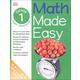 Math Made Easy Workbook Grade 1