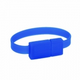 USB Flash Drive Wristband (Electric Blue) - Small