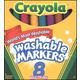 Crayola Washable Markers Bold (Set of 8)