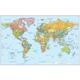 Rand McNally World Wall Map, Signature Series