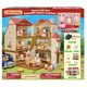 Red Roof Grand Mansion Gift Set (Calico Critters)