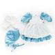Mary Ingalls Doll Blue Prairie Dress