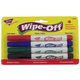 Trend Wipe Off Markers (4 Assorted)