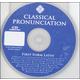 First Form Latin Classical Pronunciation CD