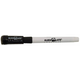 Dry Erase Replacement Markers with Eraser - Small, Black