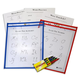 Reusable Dry Erase Pocket Kit 12