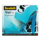 Scotch Teal Sandal Dispenser with 1 Roll Tape
