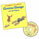 Curious George and the Puppies Book & CD set